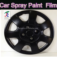 2015 Hot Black removable rubber spray paint with waterproof UV proof Plastidip China 400ml/1L/4L