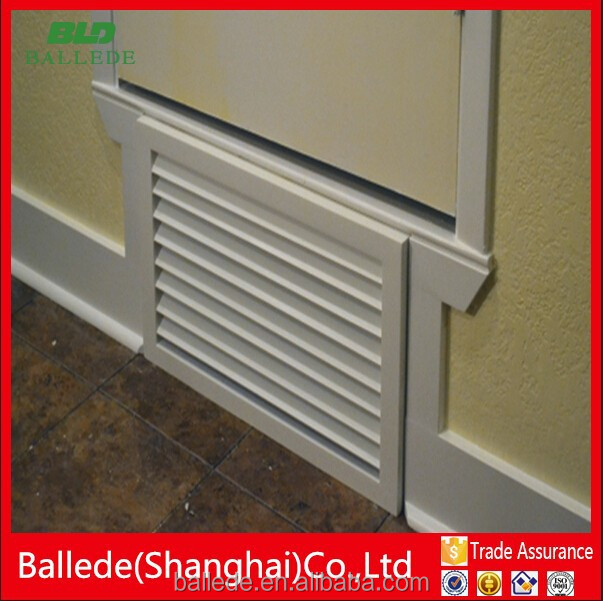 Bottom ventilation louvers door grill design buy bottom for Door ventilation design