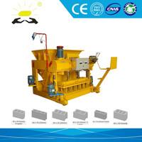 brick machine suppliers albania QMY6-25 easy disassembly brick machine flyash brick making machine price