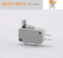 Kw-7-3 ce vde ul aprobación de los tipos de cerezo micro interruptor 16a