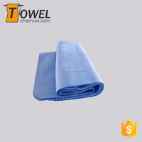 Factory direct pva chamois cooling towel for sports