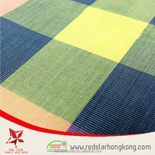 Woven yarn dyed cotton fabric