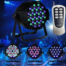 remote control LED RGBW PAR 64 Stage Light show Led par light dmx led par