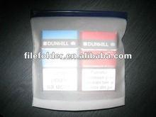 Transparent PVC Zip Lock snap closure bag