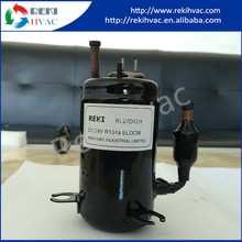 Rapid Response Rotary Battery Operated Auto Air Conditioner Compressor with Innovative Design Specification