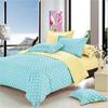 Home textile,4Pcs colorful cotton dot/wedding/luxury/decor Bedding Sets(Pillow Case+Fitted sheet+Duvet Cover)