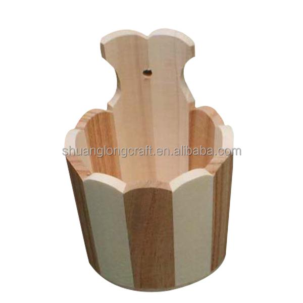 Hot Selling Wooden Vases Wooden Flower Vasesstand Wooden Flower
