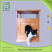 wooden craved cat furniture for pet shop and pet store