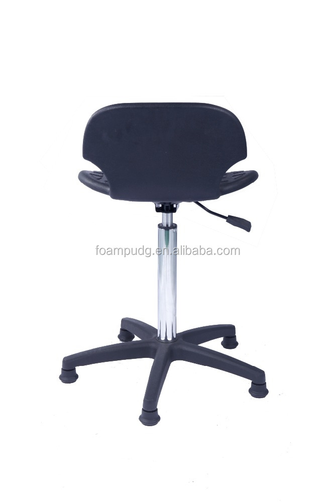 Drafting Stool With Arms Leather Drafting Chair Stool For