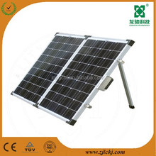 120W folding solar power panel in China
