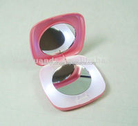 fashion Style and Double Sides led makeup pocket mirror