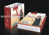2014 shopping /gift paper bag making machine price