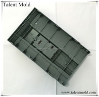 customized injection mold to produce plastic housing for electronics