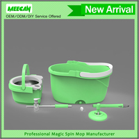 Microfiber Spin mop Car wash appliances,New PP bucket spin mop As seen on tv