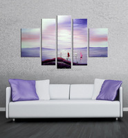beautiful scenery wall painting on canvas