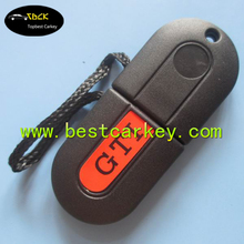 "Cheaper car key shells for vw key blank with ""GTI"" writing on cover"