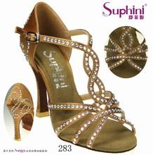 Profesional de baile latino zapatos de baile de salón, Moderna zapatos de las para mujer / proveedor