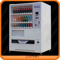 CE certificated automatical high capacity pop drink vending machine in China