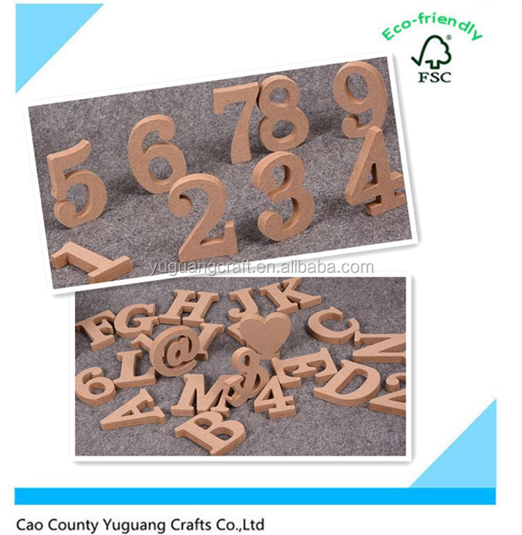 Wooden letter plain wood letter wooden blocks party home for Plain wooden blocks for crafts