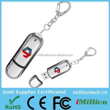 New metal swivel key chain usb 3.0 memory flash stick pen disk/drive/car/gift