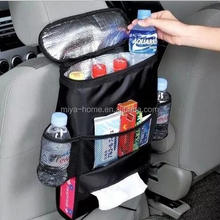 High quality Car seat storage bag / car seat back pocket / auto back seat hanging bag