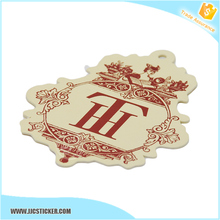 Get $100 Vouchers high quality wholesale china custom hang tag