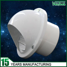 ventilation wall round aluminum fresh air roof cowl
