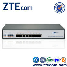 Made in China wholesale Managed 8 port Full Gigabit PoE Switch