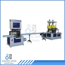 Spray Aerosol Tin Can Making Machine Production Line Necking Flanging Crimping Combination Machine
