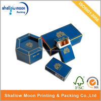 Custom Made disposable paper cigarette storage box printing