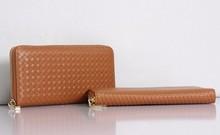Mais vendidos elegância de couro fino carteira