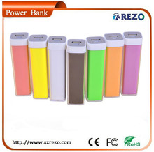 Colorful ellipse Style USB Power Bank Mobile Wholesale Mini Power Bank Selling Max Power Battery Charger Wholesale