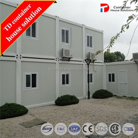 Two-storey mobile container house