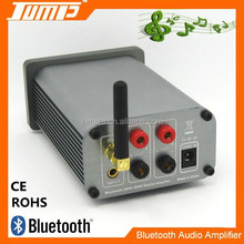 High quality aluminum shell stereo bluetooth DC24V 50W home use amplifier audio
