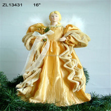 gold angels christmas tree ornaments