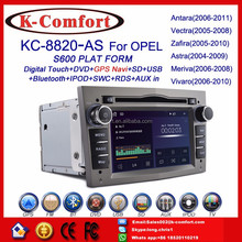 K-Comfort factory supply opel astra j multimedia with GPS + SWC + Radio + RDS BT+ SD + USB CD/DVD IPOD Aux-in