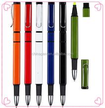 Promotional logo printed pen plastic ball pen cartoon ball pen