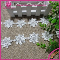 Alibaba Lace Curtain Trimming Floral Lace Trim
