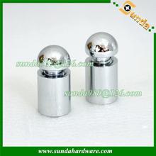 aluminium sign standoff with dome cap