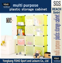 AL0043-12 Many cubes easy to assemble modern plastic living room organizers