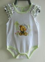 Newborn baby bodysuit 100% cotton sleeveless baby onesie