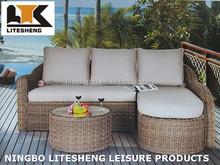 2015 New Classic Garden Outdoor Sofa Set Craft Wicker Furniture
