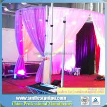 Used pipe and drape for sale, wedding backdrop curtains flower backdrop