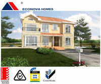 Econova small backyard cottage prefabricated house office furniture