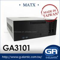 GA3101 industrial pc micro atx slim case computer