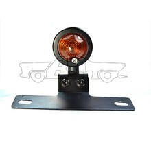 BJ-LPL-022 Custom 12v bulb motorcycle taillight round