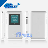 Portable Mini USB 3G 4G WiFi Wireless Router with SIM Card Slot