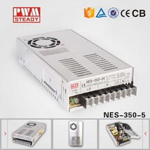 NES-350-5 CE approved 350w5v50a high performance switching power supply( NES series meanwell power supply )