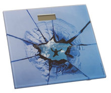 lovely tempered glass digital weight scale body weighing scale