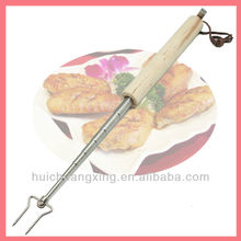 Telescopic bbq meat or spit forks